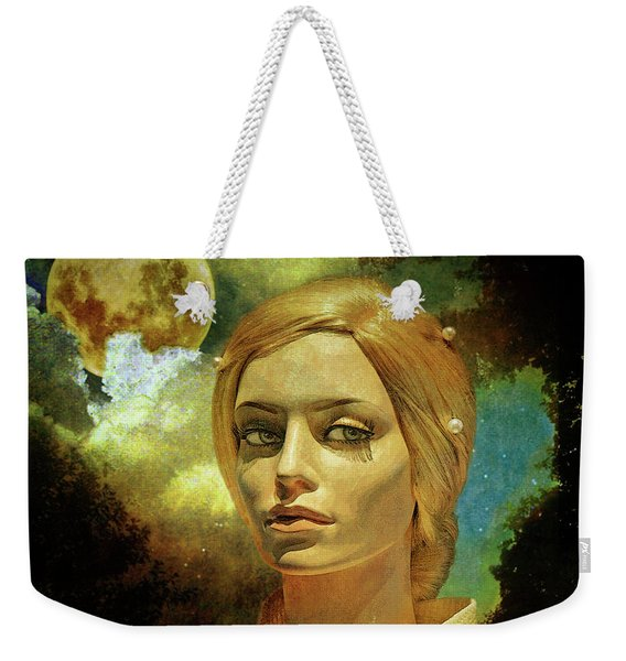 Luna In The Garden Of Evil Weekender Tote Bag