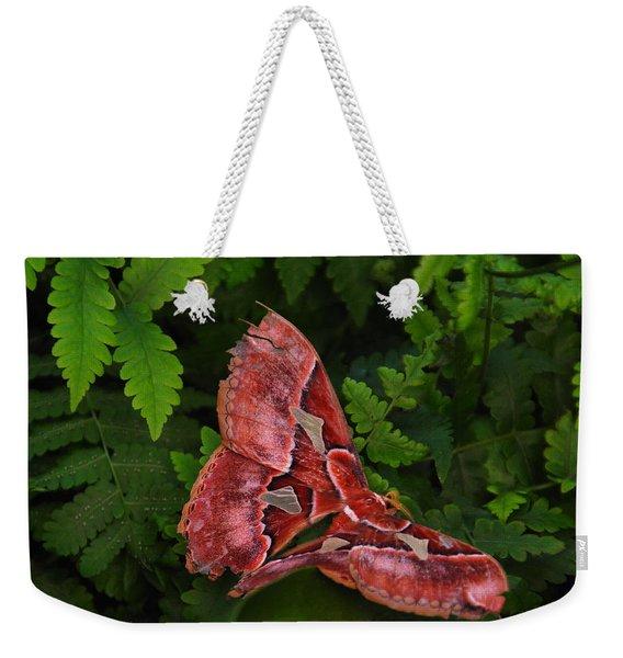 Luna Moth Weekender Tote Bag