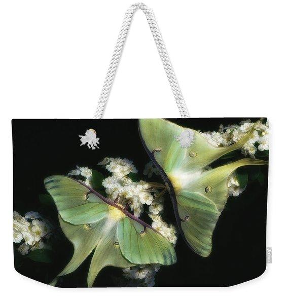 Luna Moths Weekender Tote Bag