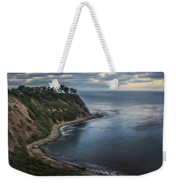 Weekender Tote Bag featuring the photograph Lunada Bay After Sunset by Andy Konieczny