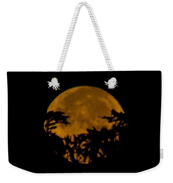 Lunar Crown Weekender Tote Bag