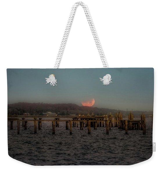 Lunar Eclispe  Weekender Tote Bag