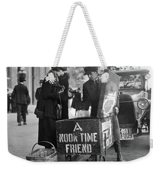 Lunch Cart In Washington D C Weekender Tote Bag