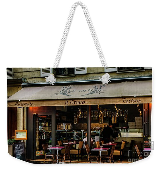 Lunch In Paris Weekender Tote Bag
