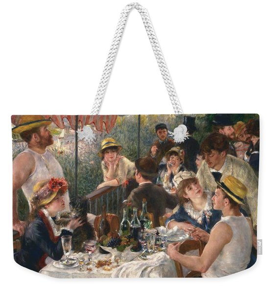 Luncheon Of The Boating Party By Renoir Weekender Tote Bag