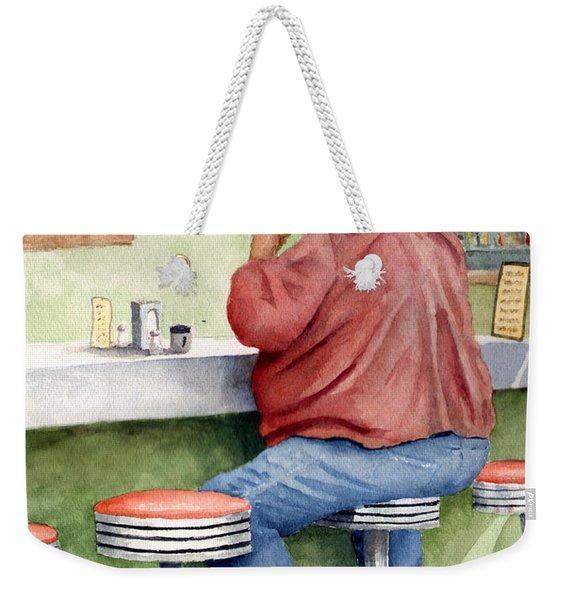Lunchtime Weekender Tote Bag