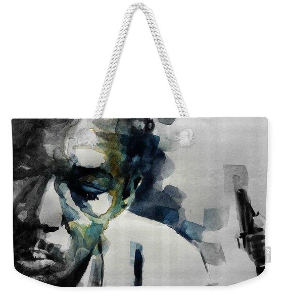 Lush Life  John Coltrane  Weekender Tote Bag
