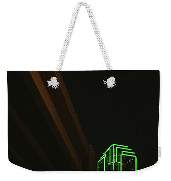 Lux Noir Weekender Tote Bag