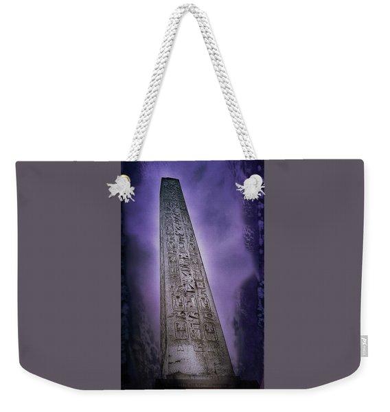 Luxor Obelisk, Paris Weekender Tote Bag