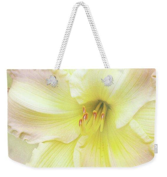 Luxurious Lily Weekender Tote Bag
