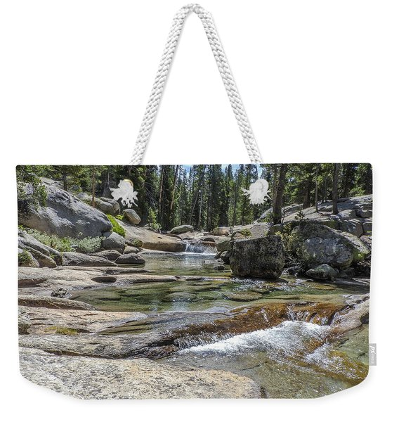 Lyell Fork Tuolomne River Yosemite National Park Weekender Tote Bag