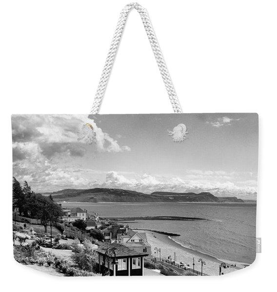 Lyme Regis And Lyme Bay, Dorset Weekender Tote Bag