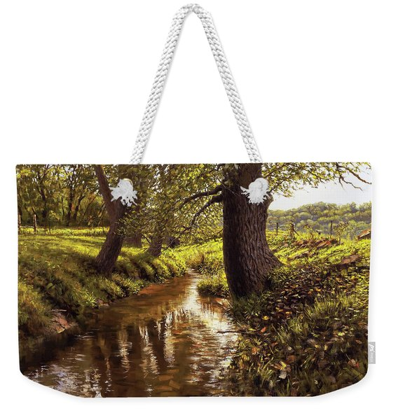 Lyon Valley Creek Weekender Tote Bag