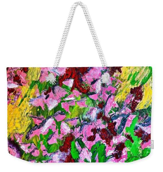Lyrical Abstraction 201 Weekender Tote Bag