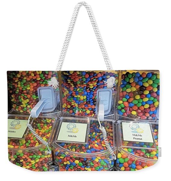 M And Ms Buy Bulk Weekender Tote Bag