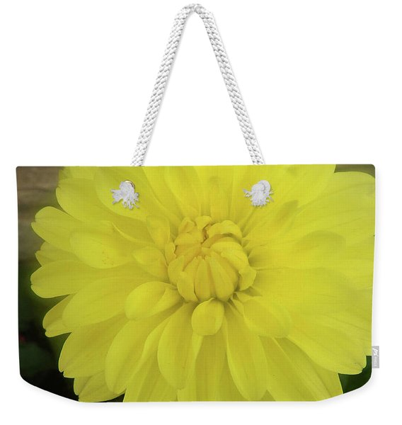 M Shades Of Yellow Flowers Collection No. Y90 Weekender Tote Bag