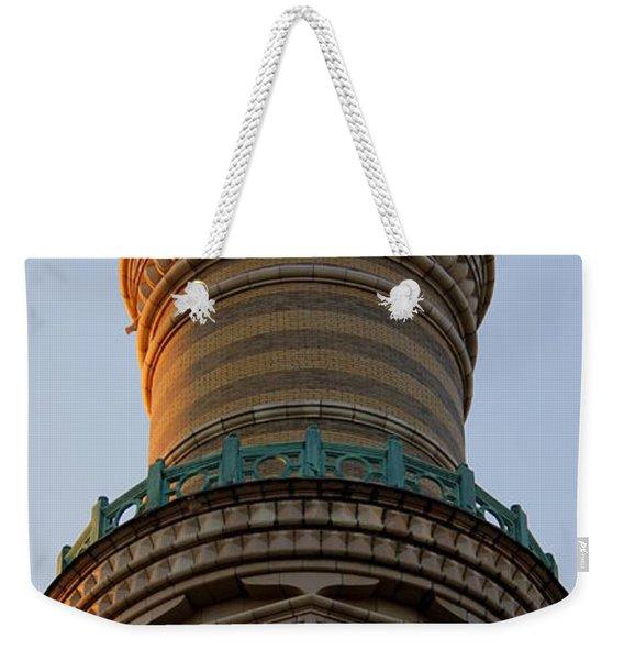 M Temple Weekender Tote Bag