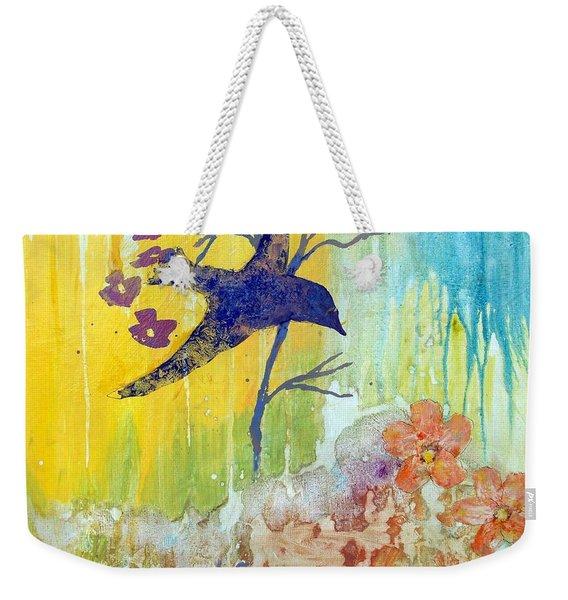 Ma Doh Bird Soars Weekender Tote Bag