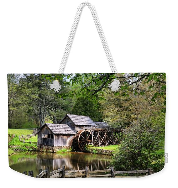 Mabry Mill With Tree Branches Weekender Tote Bag