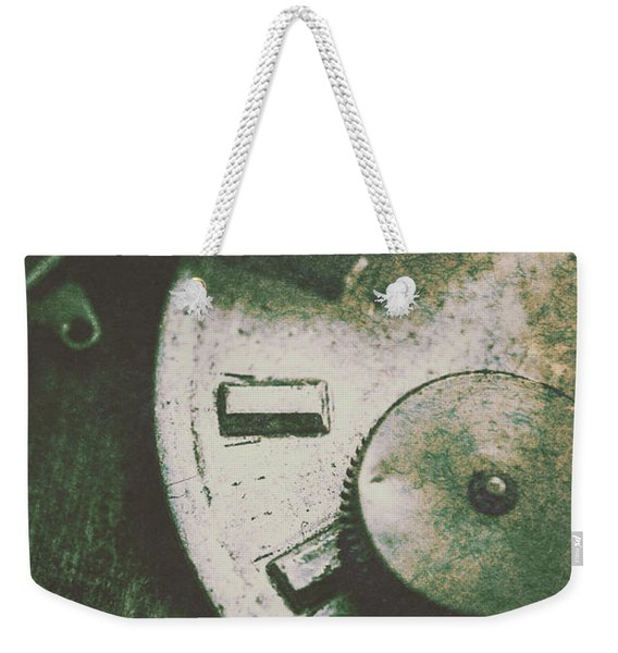 Machinery From The Industrial Age Weekender Tote Bag
