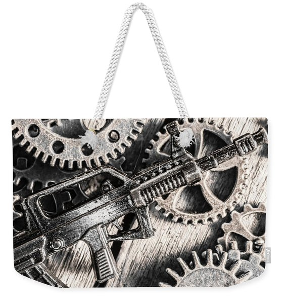 Machines Of Military Precision  Weekender Tote Bag