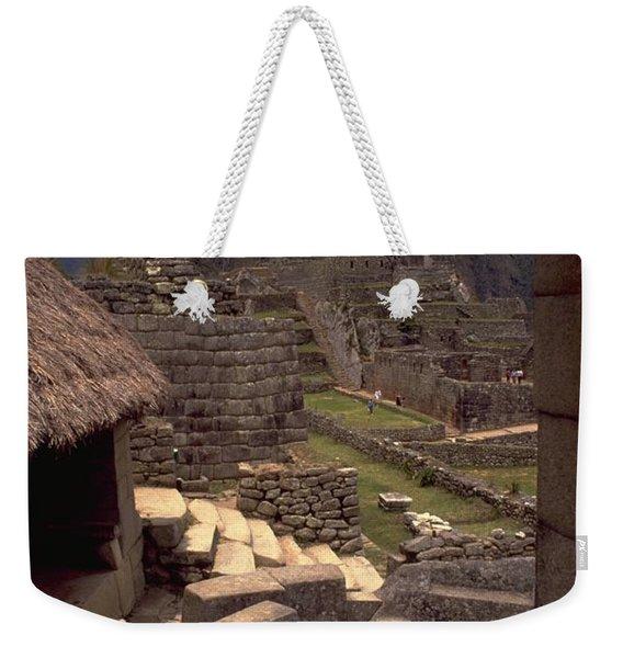 Machu Picchu Weekender Tote Bag