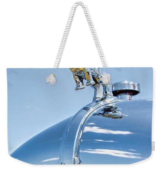 Mack Hood Ornament Weekender Tote Bag