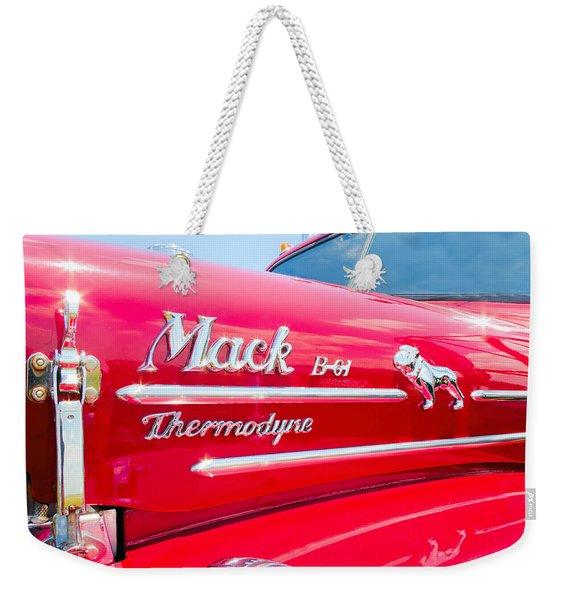 Mack Truck Hood Badges Weekender Tote Bag