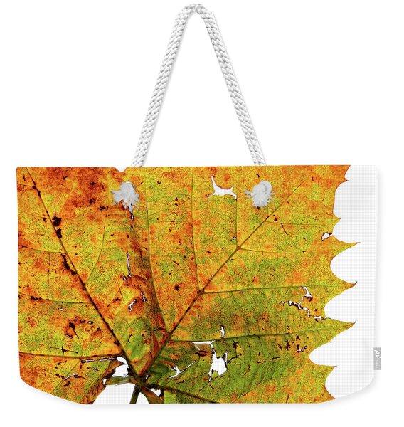 Macro Autum Weekender Tote Bag