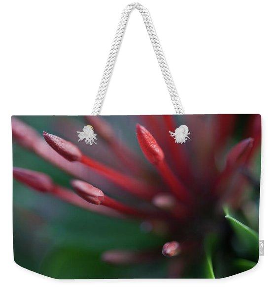 Macro Bloom - 0015 Weekender Tote Bag