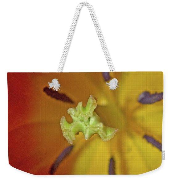 Macro Bloom - Pla238 Weekender Tote Bag