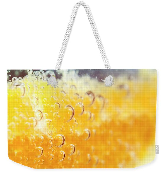 Macro Detail On A Club Orange Cocktail Weekender Tote Bag