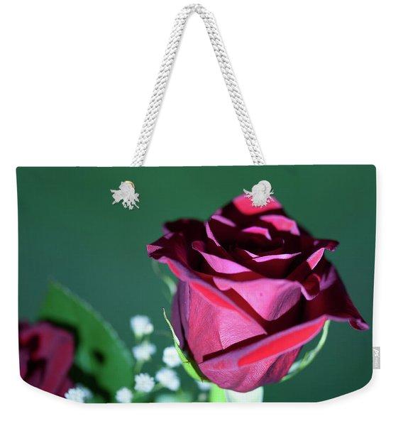 Macro Rose - 1106 Weekender Tote Bag