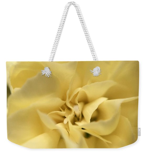Macro Yellow Rose Weekender Tote Bag