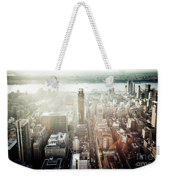Sunset At Macy's Weekender Tote Bag