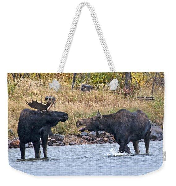 Mad Mamma Moose Weekender Tote Bag