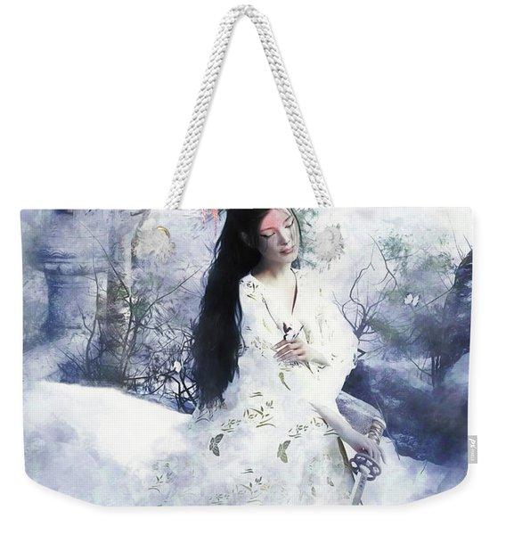 Madam Butterfly  To Die With Honour Weekender Tote Bag