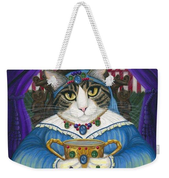 Madame Zoe Teller Of Fortunes - Queen Of Cups Weekender Tote Bag