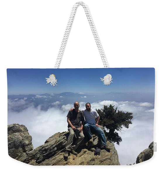 Made It To The Top Weekender Tote Bag