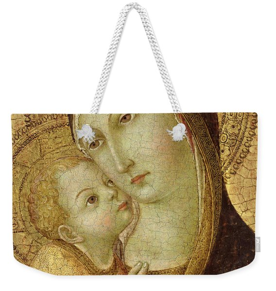 Madonna And Child Weekender Tote Bag