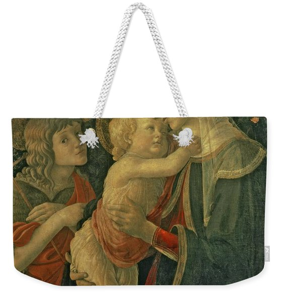Madonna And Child With St. John The Baptist Weekender Tote Bag