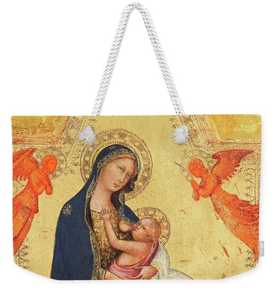 Madonna Of Humility Weekender Tote Bag