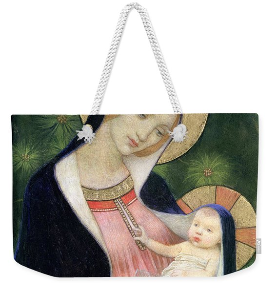 Madonna Of The Fir Tree Weekender Tote Bag
