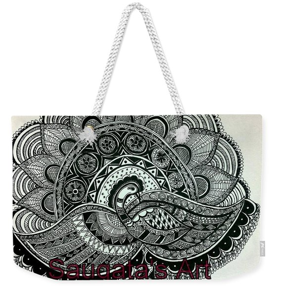 The Magnificent Peacock Weekender Tote Bag