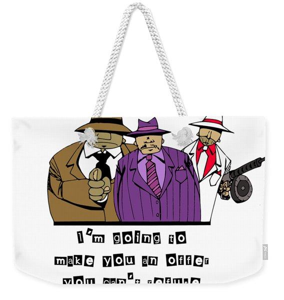 Mafia Weekender Tote Bag