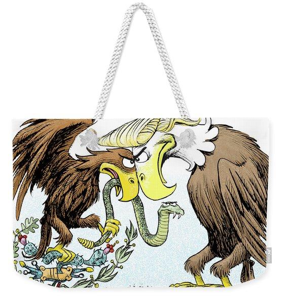 Maga Vs Mexico Weekender Tote Bag