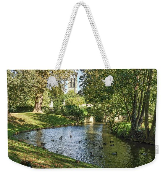 Magdalen From The River Cherwell Weekender Tote Bag