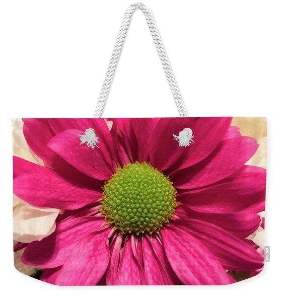 Magenta Chrysanthemum Weekender Tote Bag