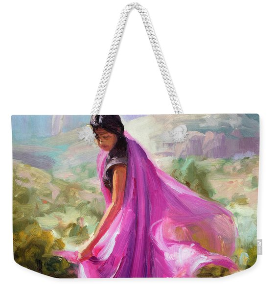 Magenta In Zion Weekender Tote Bag