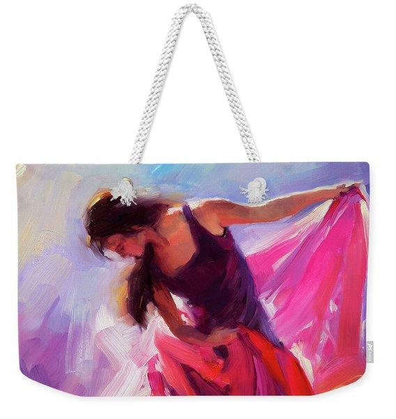 Magenta Weekender Tote Bag